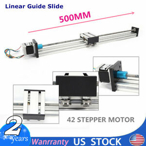 Linear Actuator Linear Guide 500mm Slide Rail Guide Accurate W 42stepping Motor