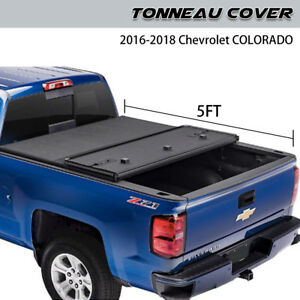 Hard Tonneau Bed Cover Fits 15 19 Chevy Colorado Gmc Canyon 5 Ft