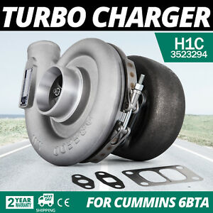 Top H1c Diesel Turbo Charger For Dodge Ram Cumnnins 6bta 3523294 Bolt On Cool