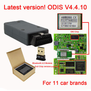 Vas 5054a Odis 4 4 10 Full Chip Oki Bluetooth 4 0 Code Scanner Diagnostic Tool