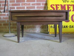 Mid Century Modern Nightstand Side End Table By Dixie