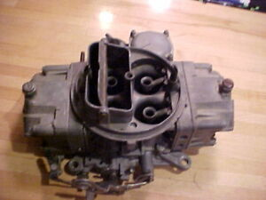 1965 Corvette Holley Carburetor 396 425 Hp List 3124 852 Chevrolet 3868826 Cs