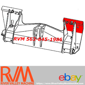 Rvm Repair Panel For Mount Plate 6709215 rh 3 Pieces For Bobcat W Bob tach
