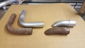 Vintage 70 S Thrush Outsider Sidepipe Tips First Bends