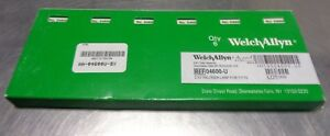 Box Of 6 Welch Allyn 04600 u Halogen Lamps 2 5v For 17710 New