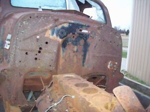 1937 1938 Chevy Steel Car Firewall Coupe Sedan 37 38 216 Trog Jalopy Rat Rod Hot