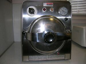Amsco Autoclave Medical Steam Sterilizer American Standard Works Great