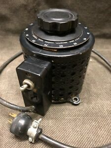 General Radio Variac Type 200c Variable Transformer Powerstat