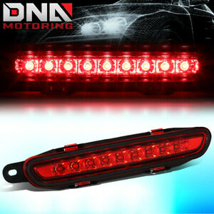 For 2006 2010 Dodge Charger Full Led Third 3rd Tail Brake Light stop Lamp Red