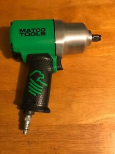 Matco Tools 1 2 Drive Air Impact Wrench Mt2769 Green Very Nice L K