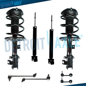 Front Rear Struts Spring Sway Bar Link For 2009 2010 2011 2014 Nissan Maxima