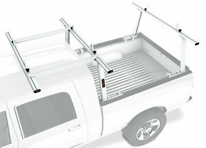 Aluminum Full Size Pickup Truck Bed Ladder Racks W Over The Cab Extension