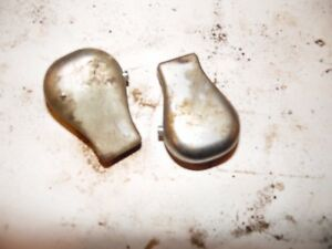 Ford 9600 Diesel Farm Tractor 2 Steel Control Lever Knobs nice