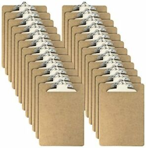 Officemate International Letter Sz Wood Clipboards