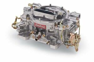 Edelbrock 1405 Performer Series 600 Cfm Manual Choke Carburetor