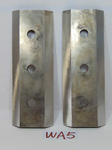 7 1 4 X 2 5 8 X 1 2 Bandit Brush Chippers Blades Lot Of 2