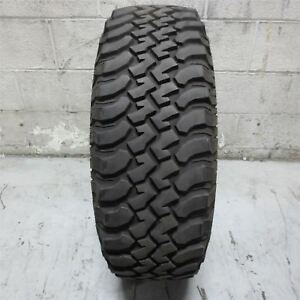 Lt255 75r17 Bfgoodrich Mud Terrain T A Km 111q Tire 12 32nd No Repair