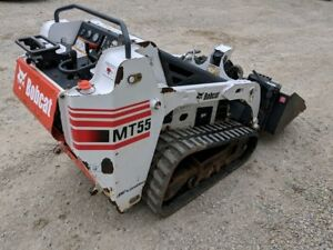 2007 Bobcat Mt55 Skid Steer Loader