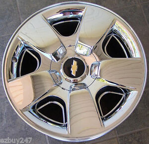 20 New Chevrolet Suburban Tahoe Factory Replacement Chrome Clad Wheel Rim 5417