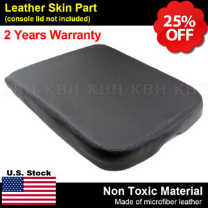 Armrest Center Console Leather Synthetic Cover For Dodge Ram 02 08 Black
