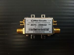 Mini circuits Mixers Zx73 2500 s Voltage Variable Attenuator 10 To 2500mhz