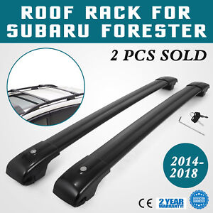 Roof Rack For Subaru Forester Cross Bars 2014 2018 Carrier Roof Rails Storage