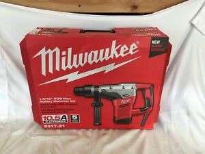 New Milwaukee 1 9 16 In Sds max Rotary Hammer With Case 5317 21