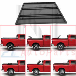 5 7ft 5 8 Short Bed Roll Up Lock Soft Tonneau Cover For 2009 18 Dodge Ram 1500