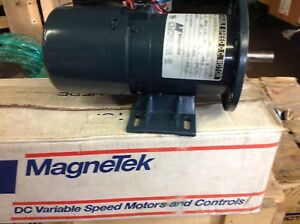 1 4 Hp 90v Dc Variable Speed Motor Rpm 1725 Magnetek New
