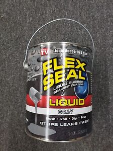 Flex Seal Liquid Rubber In A Can 1 gal Gray