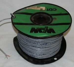 West Penn Wire 357 22 4 Stranded Tinned Copper Conductors Shielded Unshielded