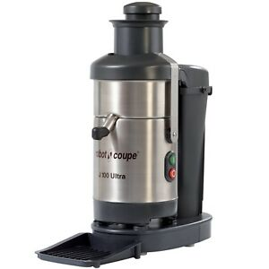 Robot Coupe J100 Ultra Juicer With Continuous Pulp Ejection 120 V