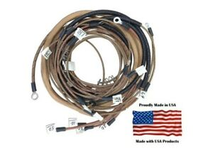Complete Wiring Harness Allis Chalmers B C Ca With 1 Wire Alternator