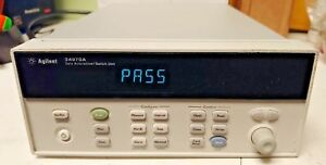 Hp 34970a Data Acquisition switch Unit