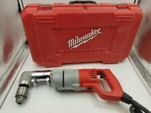 Milwaukee 1107 1 Heavy Duty Corded 1 2 Right Angle Drill With Case ap1055739
