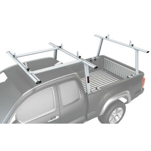 Aluminum Full Size Pickup Truck Bed Ladder Racks W over Cab Extension For Tacoma