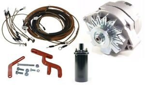 Allis Chalmers D10 D12 Tractor 12 Volt Alternator Conversion Kit With Brackets