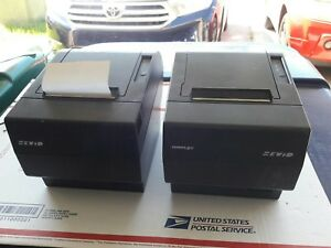 Posiflex Point Of Sale 3 Thermal Printer Serial And Parallel Model Pp7000 iic