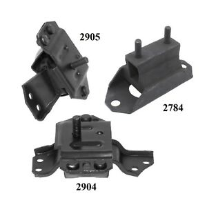 3 Pcs Front Motor Trans Mount For 1996 1998 Ford Mustang 3 8l
