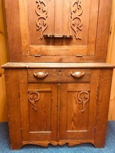 Primitive Antique Secretary Desk From 1800 S Family Owned Local