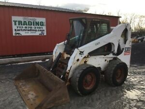 2007 Bobcat S300 Skid Steer Loader W Cab Coming Soon