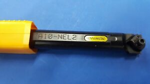 Kennametal A10 nel2 Thru Coolant Indexable Threading Grooving Boring Bar