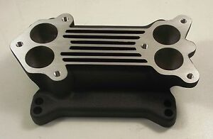 Holley 94 Edelbrock Carby Ford Flathead Hot Rod Carburettor Adapter Plate Black
