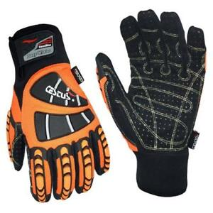 Temp Cold Weather Gloves Series Hm Deep Winter Insulated Impact Glove Work Cut
