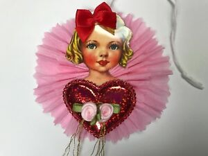 Paper Doll Valentine S Day Gift Tags Ornaments Feather Tree Item 27