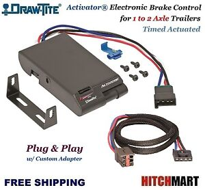 Activator Trailer Brake Control Adapter For Ford Lincoln Mercury Land Rover