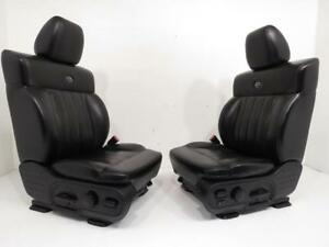 Ford F150 Harley Davidson Seats 2004 2005 2006 2007 2008 Black Leather Seats