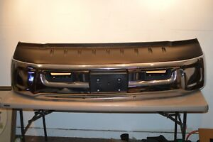 13 14 15 16 17 18 Dodge Ram 1500 Front Bumper Original Oem Chrome