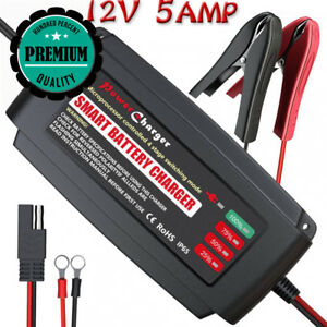 Leicestercn Car Battery Trickle Charger 12v Maintainer Automatic Smart