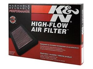 K n 33 2438 High Performance Replacement Air Filter Pre oiled